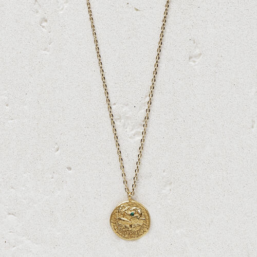 "Necklace ""Mon chou"" in gold plated : Jewelry color GOLD"