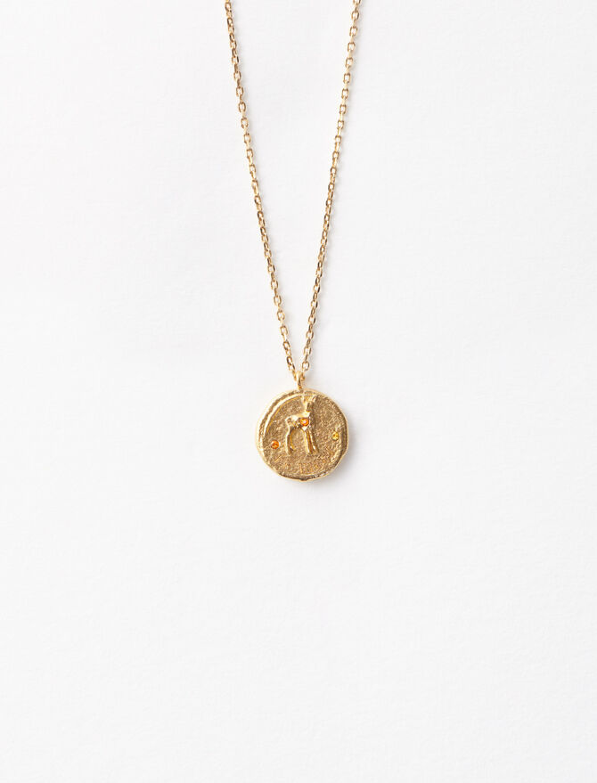 """Ma biche"" gold-plated necklace -  - MAJE"