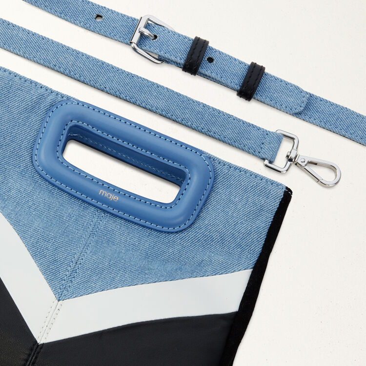 Sac M en cuir et denim : See all couleur MULTICO