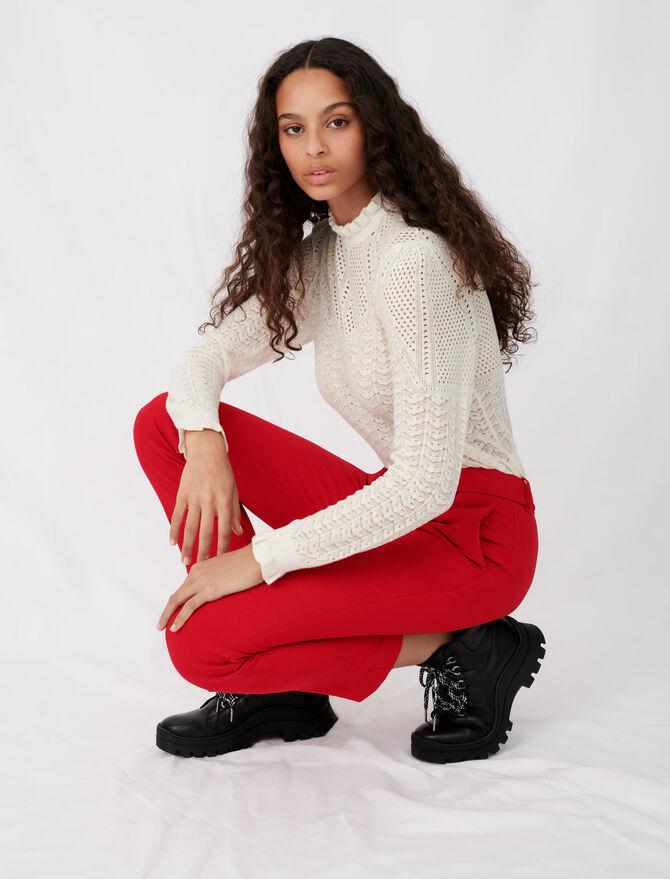 Straight-leg pants - Trousers - MAJE