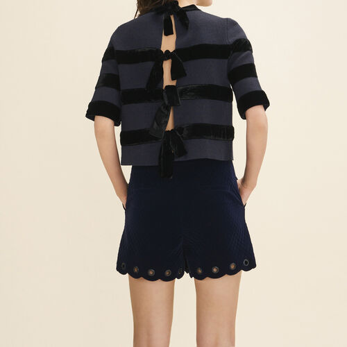 Locknit jumper : Knitwear color Navy