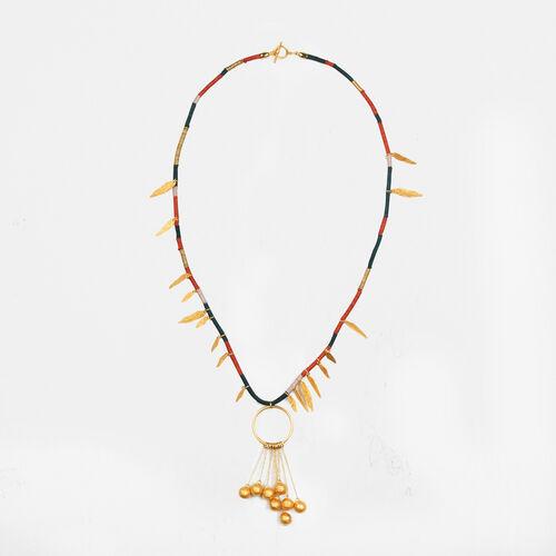 Necklace with pendants - Voir Tout - MAJE