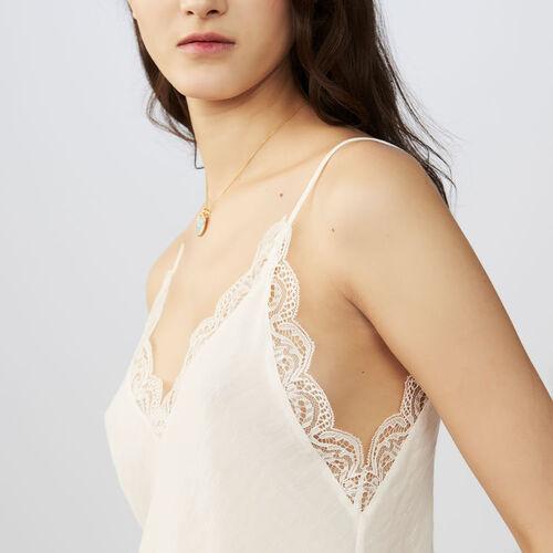 Lace top : Tops color Black 210
