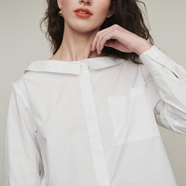 Top à épaules dénudées : Tops & Chemises couleur ECRU