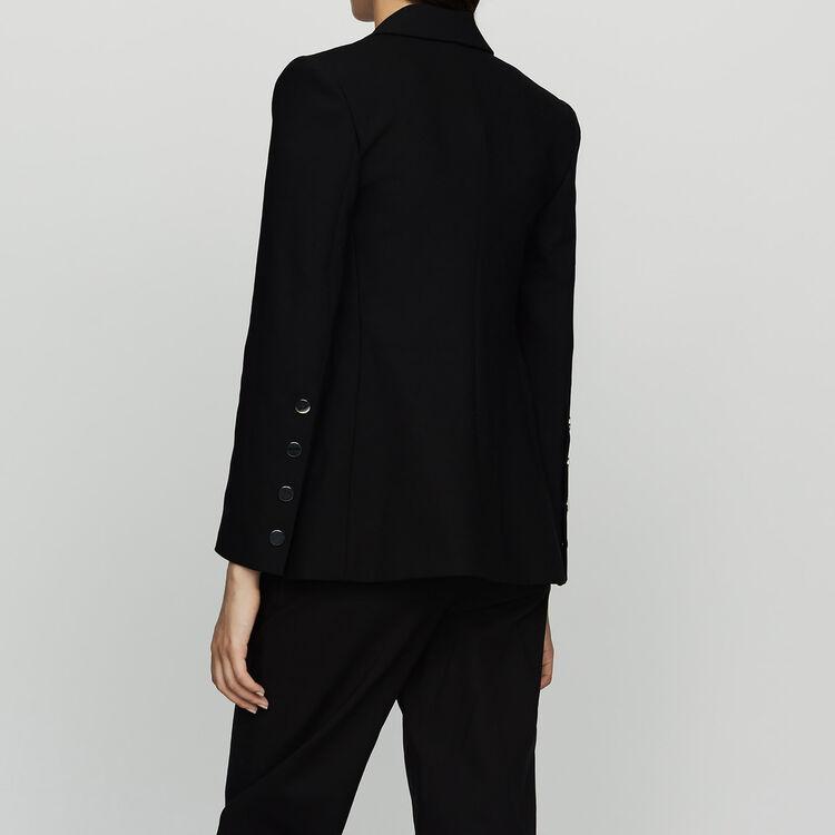 Veste de tailleur : Vestes couleur Black