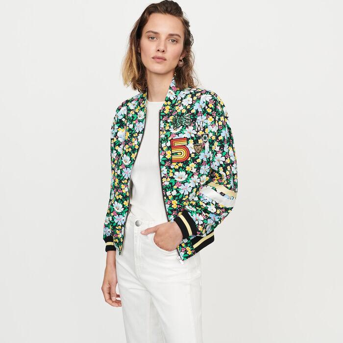 Floral print jacket : Coats & Jackets color Printed