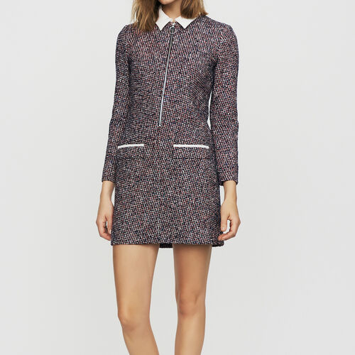 Tweed shirt dress : Ready to wear color Jacquard