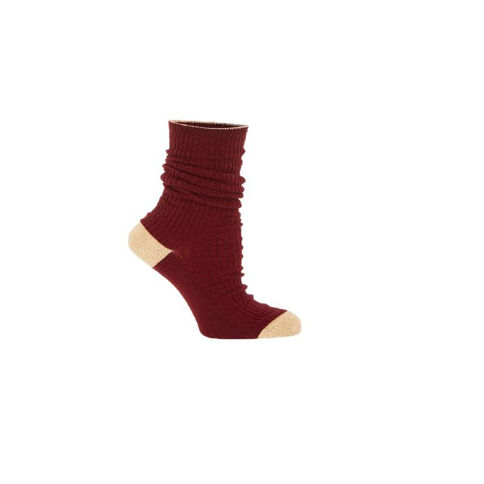 Chausettes : Gift with purchase couleur BORDEAUX