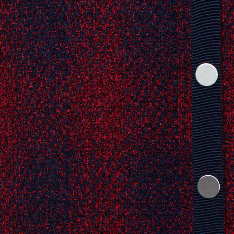 Robe-chemise en tweed : Prêt-à-porter couleur CARREAUX