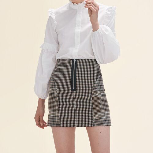Checked skirt - Skirts & Shorts - MAJE