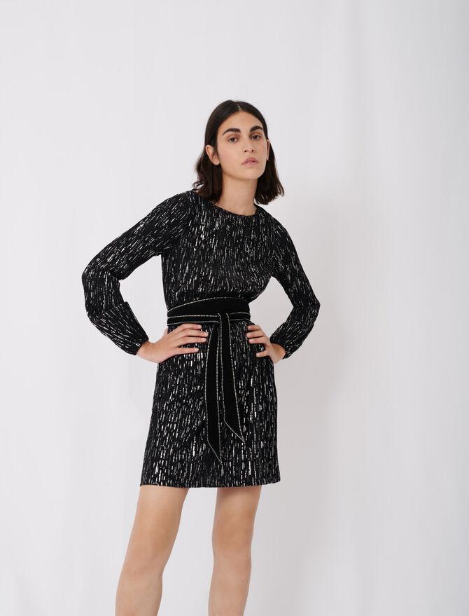Robe courte plissée - Nouvelle collection - MAJE