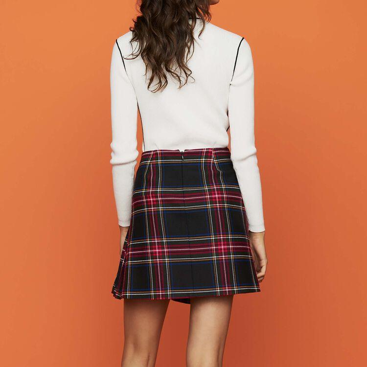 Jupe kilt à carreaux : Prêt-à-porter couleur CARREAUX