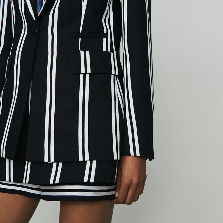 Veste de tailleur à rayures : Vestes couleur Rayure