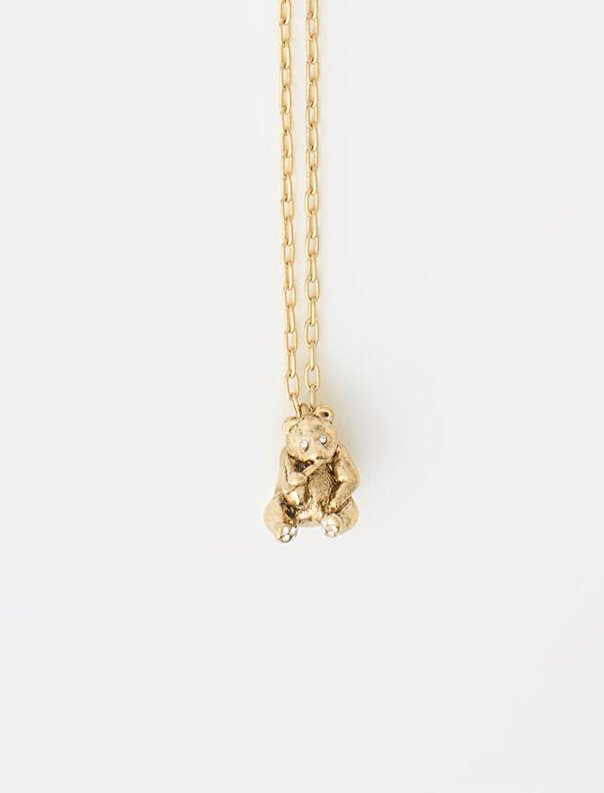 Panda animal necklace -  - MAJE