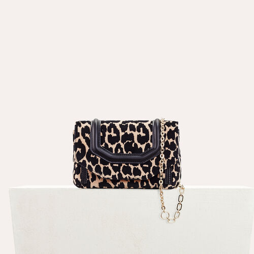 Leopard print evening bag : Party looks color PRINTED