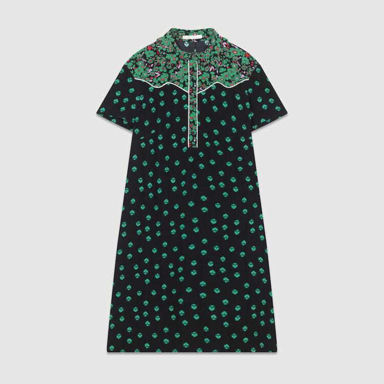 Robe-chemise imprimée : Robes couleur IMPRIME
