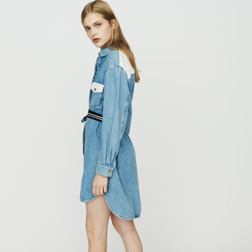 Robe-chemise en jean : New in : Collection Été couleur Denim