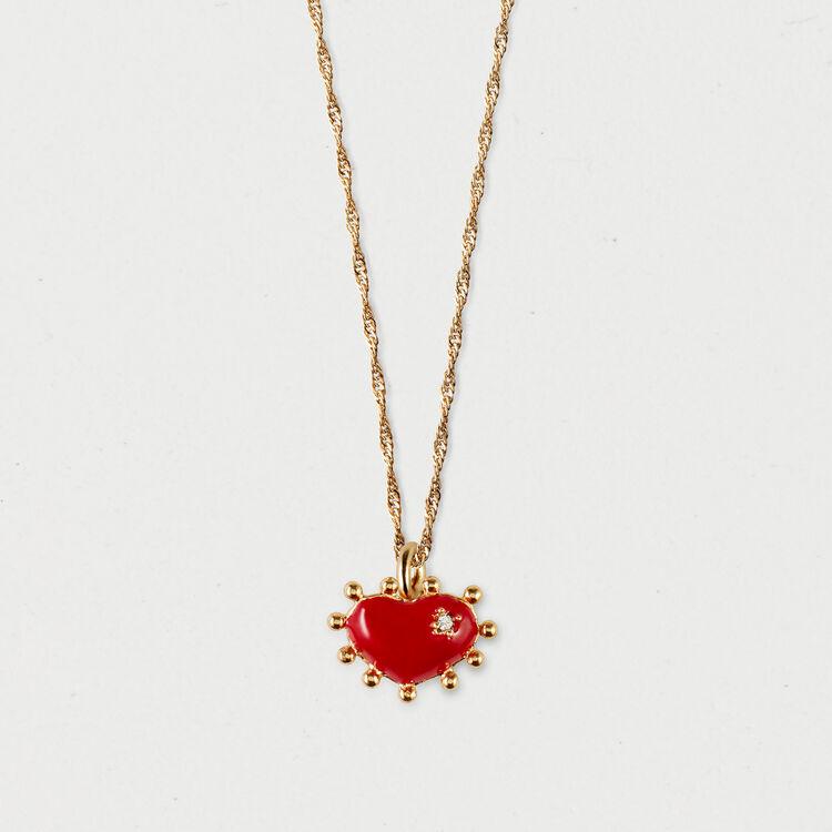 Collier cœur : Bijoux couleur OR