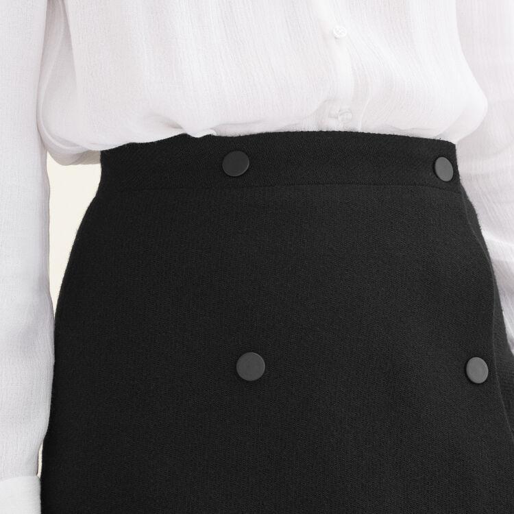 Jupe portefeuille : Jupes & Shorts couleur Black