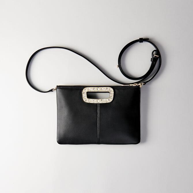 Strass-handle bi-material M Duo bag - See all - MAJE