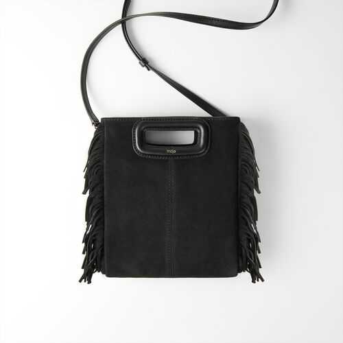 Suede M bag : All bags color Black