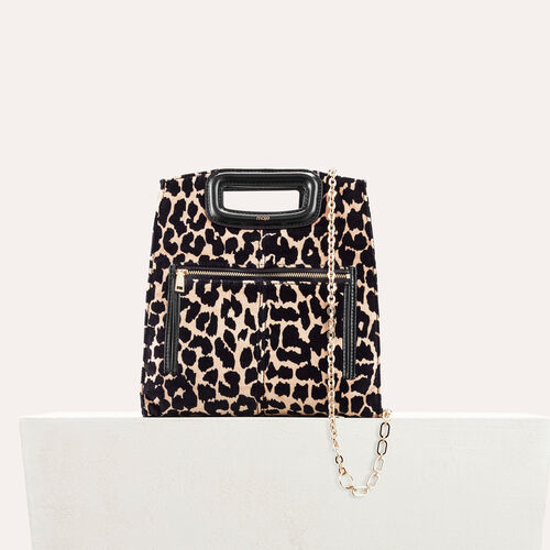 Leopard print bag : Party looks color PRINTED