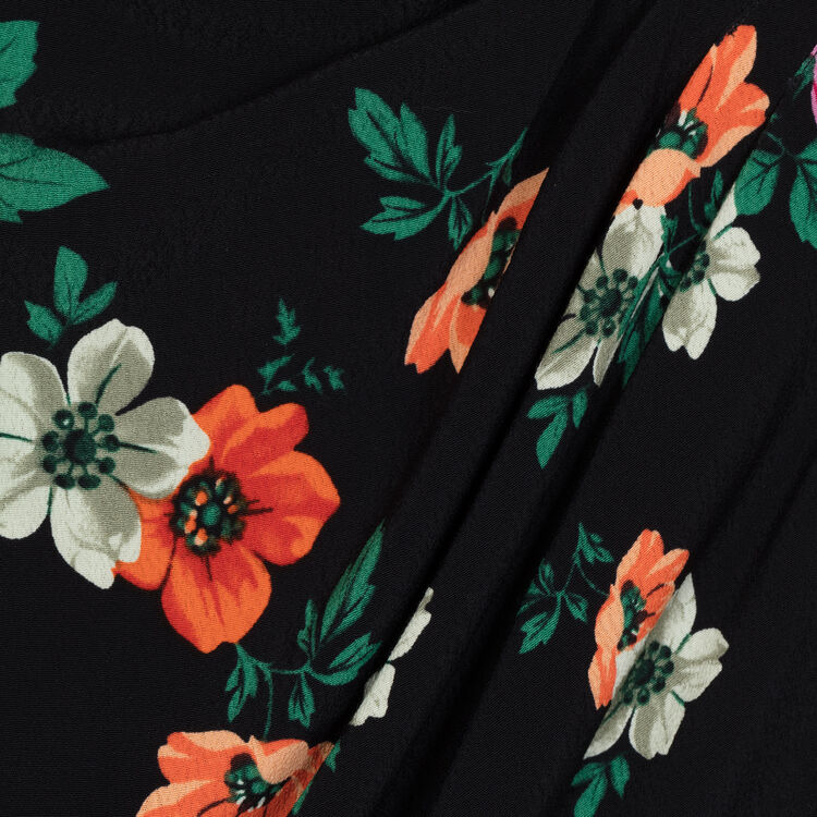 Robe portefeuille imprimée : Robes couleur Imprime