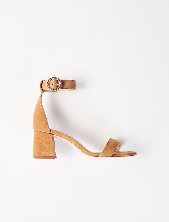 Sandales à talons midi avec brides - Sandales - MAJE