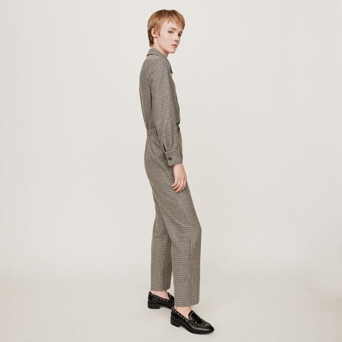 Checkered jumpsuit - staff private sale 20 - MAJE