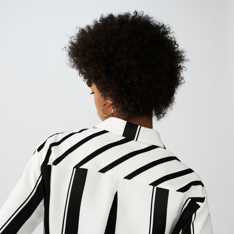 Robe-chemise à rayures : Tout voir couleur Rayure