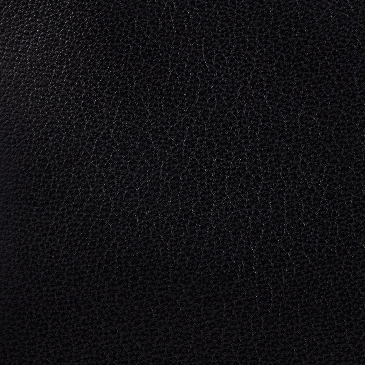 Sac M à franges en cuir : Sacs M couleur BLACK