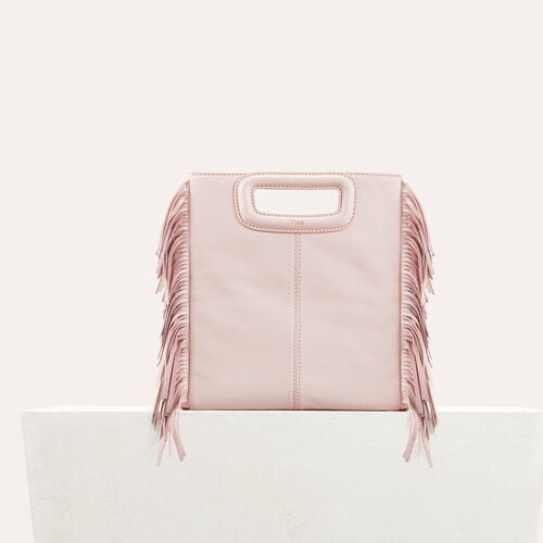 Lambskin M bag : Bags color Nude