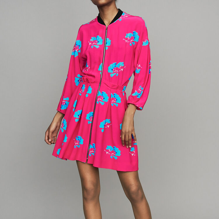 Robe à imprimé effet trompe-l'œil : Prêt-à-porter couleur IMPRIME