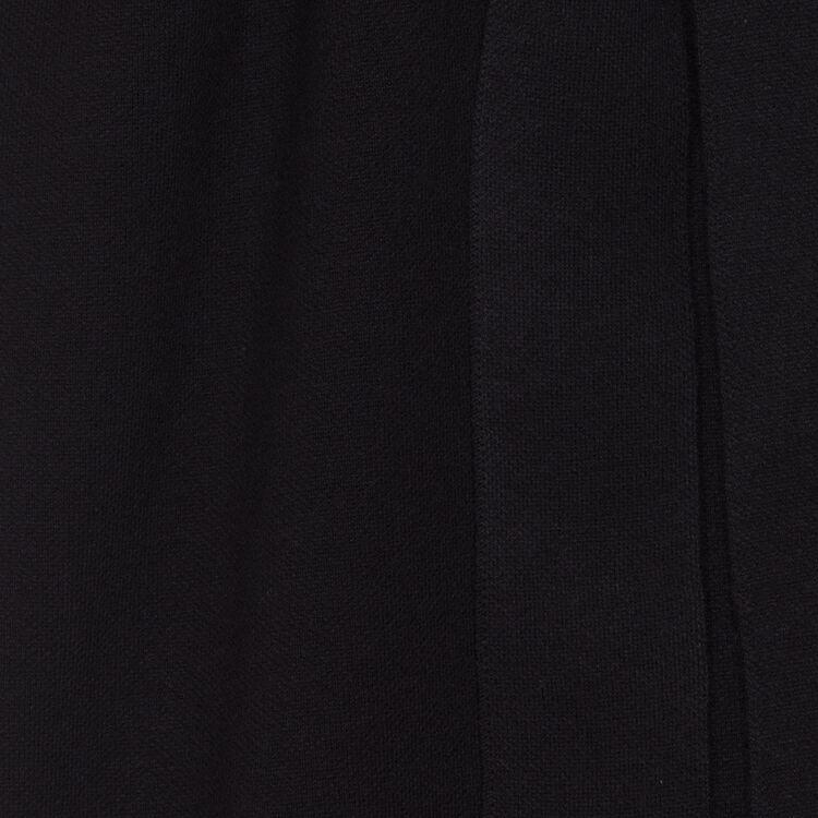 Long cardigan à capuche : Prêt-à-porter couleur Black