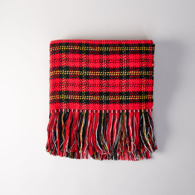 Whool-blend scarf -  - MAJE