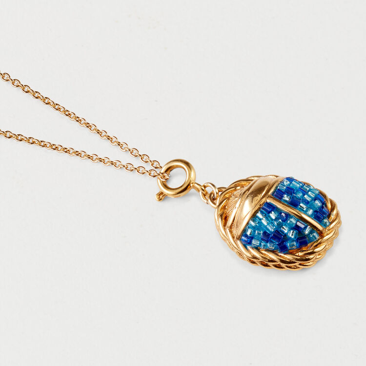 Collier scarabée : Bijoux couleur OR