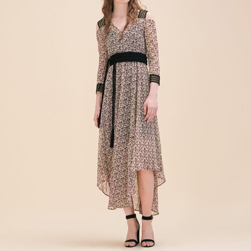 Long printed dress : See all color Print
