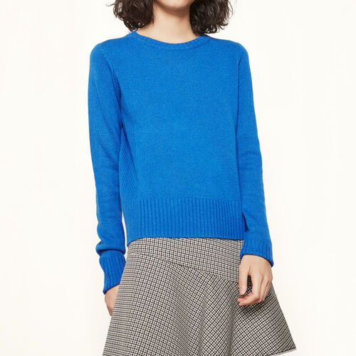 Cashmere jumper : My best friend color China Grey