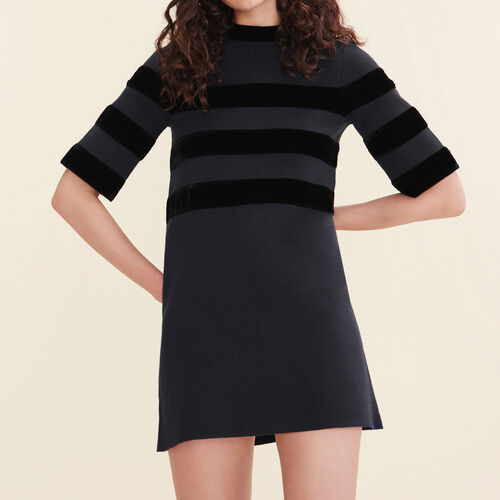 Short locknit dress : Best Sellers color Navy