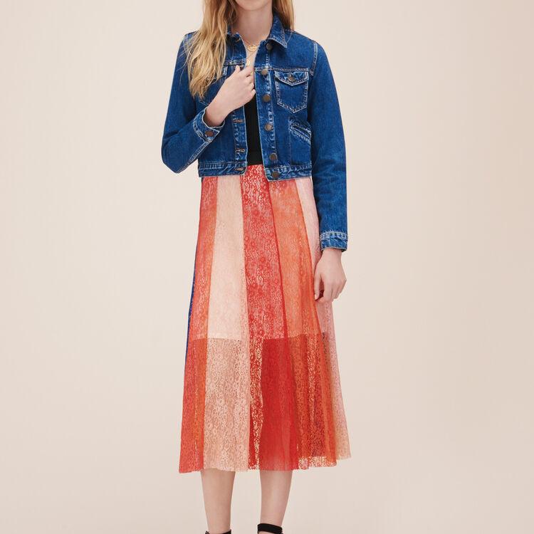 Blouson en jean : Vestes couleur Denim