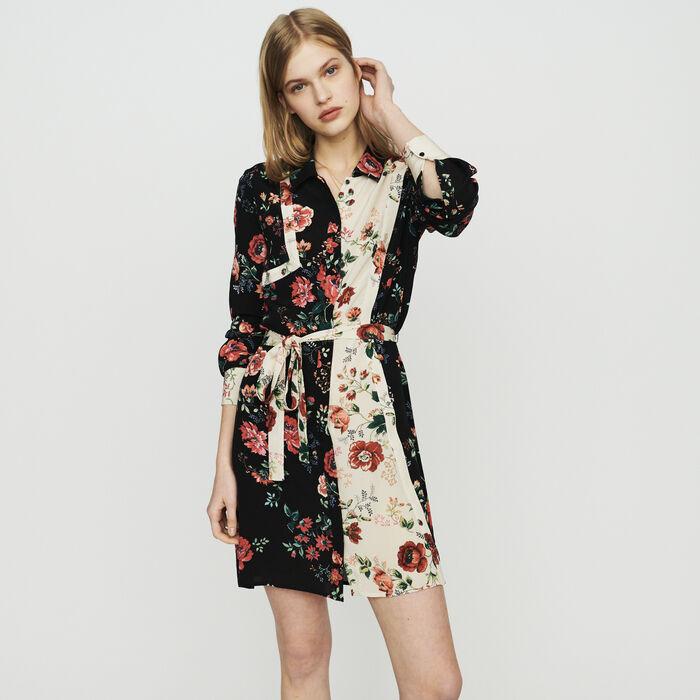 Robe-chemise à imprimé floral : Robes couleur IMPRIME
