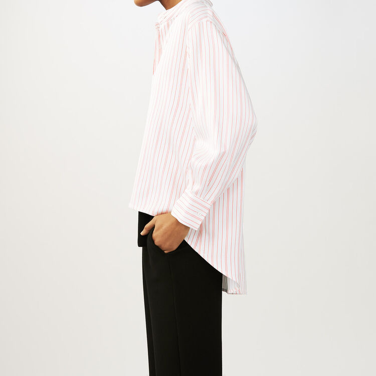 Chemise oversize à rayures : Chemises couleur Rayure