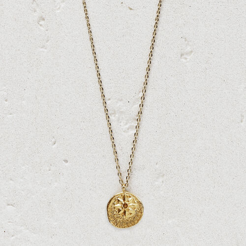 "Necklace  ""Mon étoile"" in gold plated : Jewelry color GOLD"