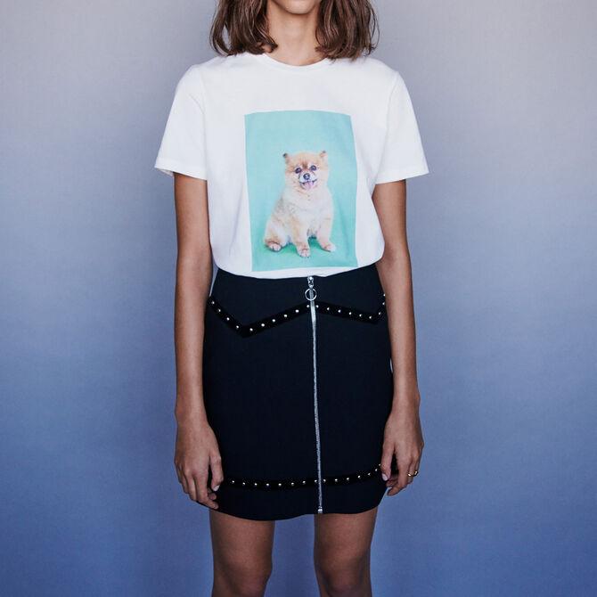 Tee-shirt imprimé - Vente privée personnel 20 - MAJE