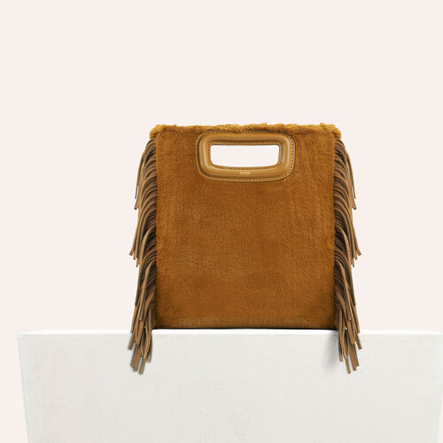 Faux fur M bag - M bags - MAJE