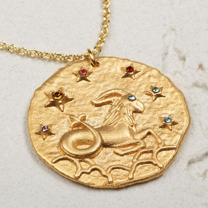 Collier Capricorne signe du zodiaque : Tout voir couleur