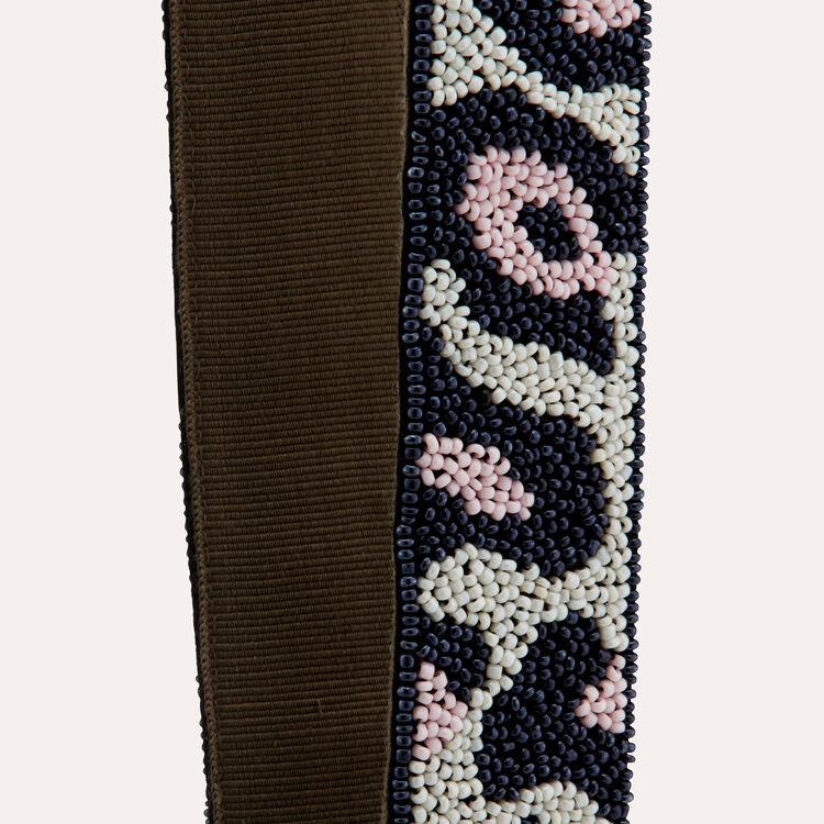 Bandoulière léopard : Bandoulières couleur MULTICO