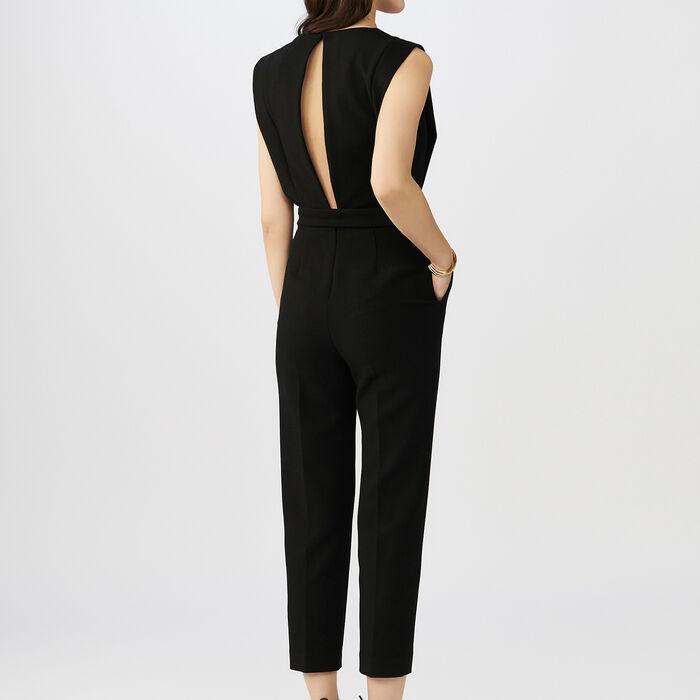 Combi-pantalon sans manches : Combinaisons couleur Black