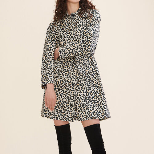 Leopard print coat : Coats color PRINTED