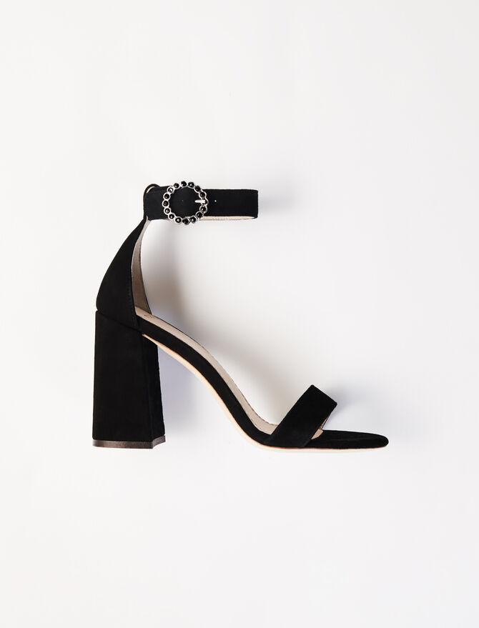 Sandales à talons hauts avec brides - Sandales - MAJE